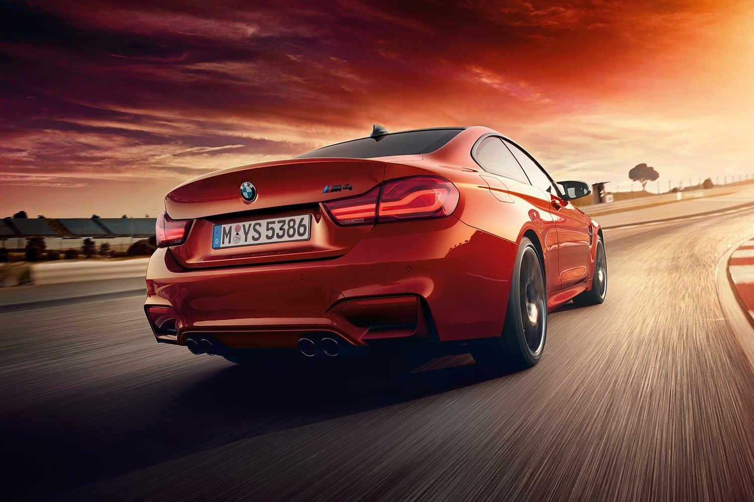 2018 BMW M4 Coupe Exterior Exterior. Competition Package Shown.