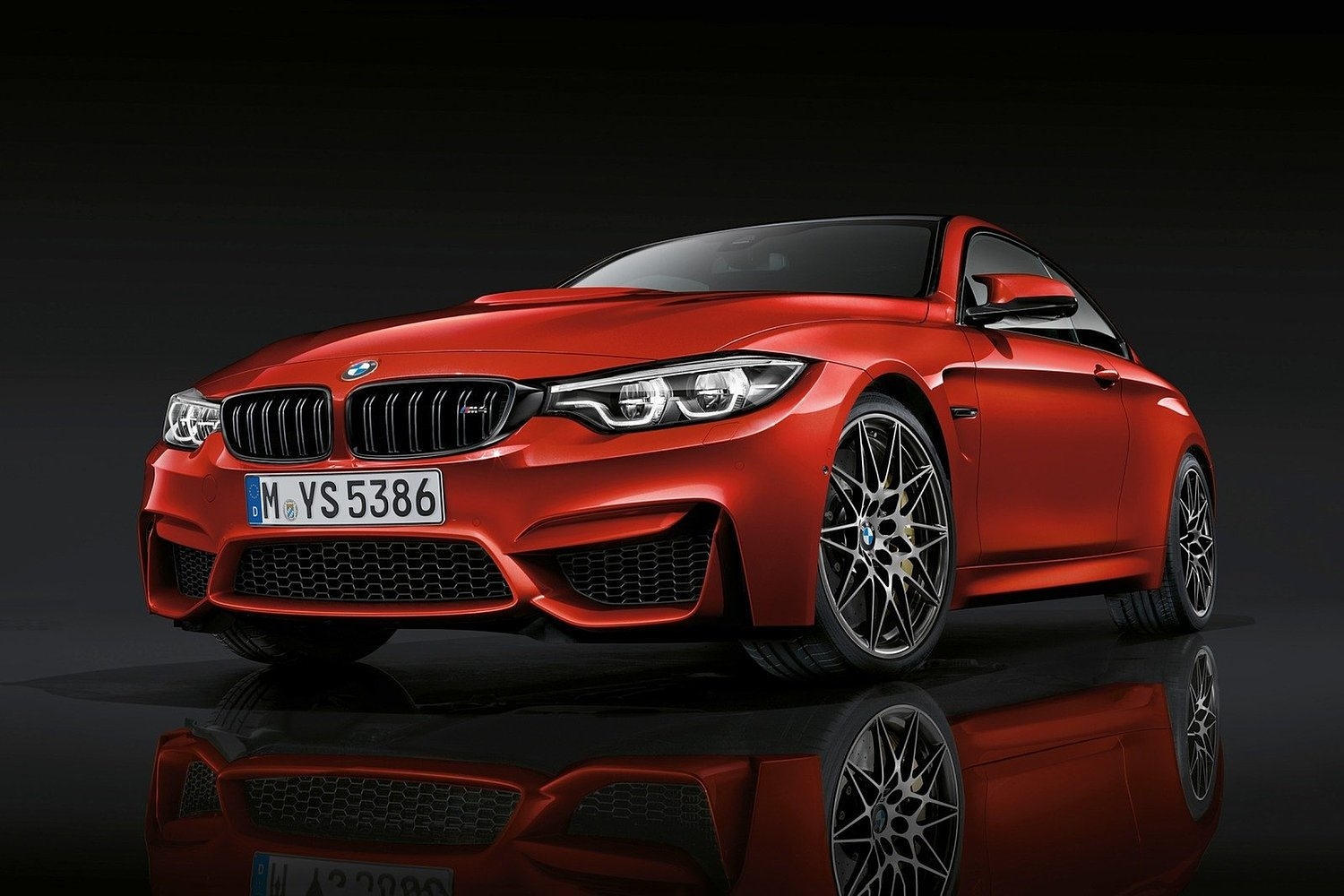 2018 BMW M4 Coupe Exterior. Competition Package Shown.