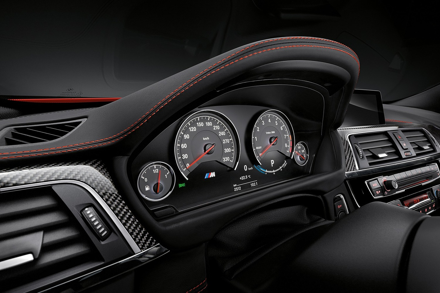 2018 BMW M4 Coupe Gauge Cluster