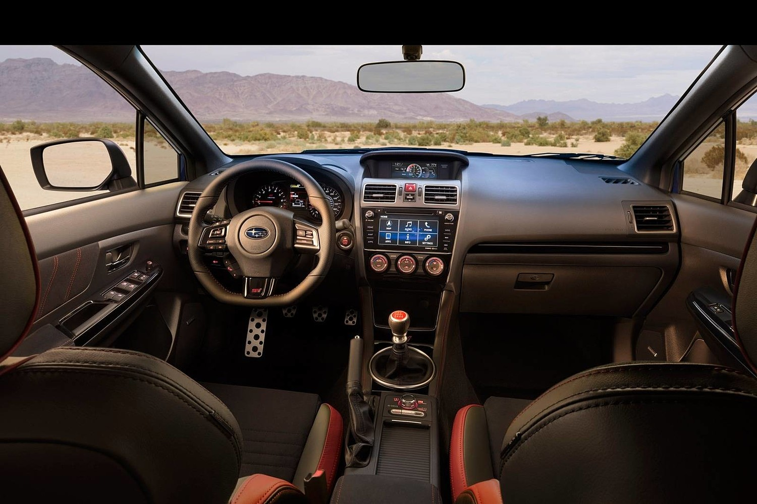 2018 Subaru WRX STI Limited Sedan Dashboard Shown