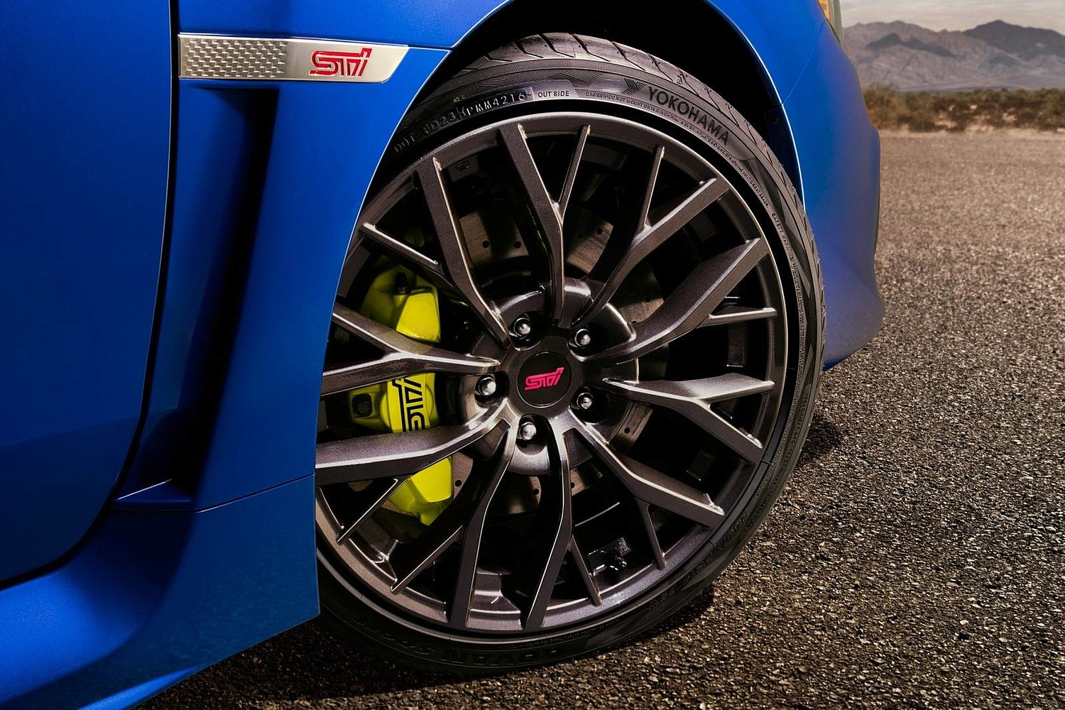 2018 Subaru WRX STI Limited Sedan Wheel
