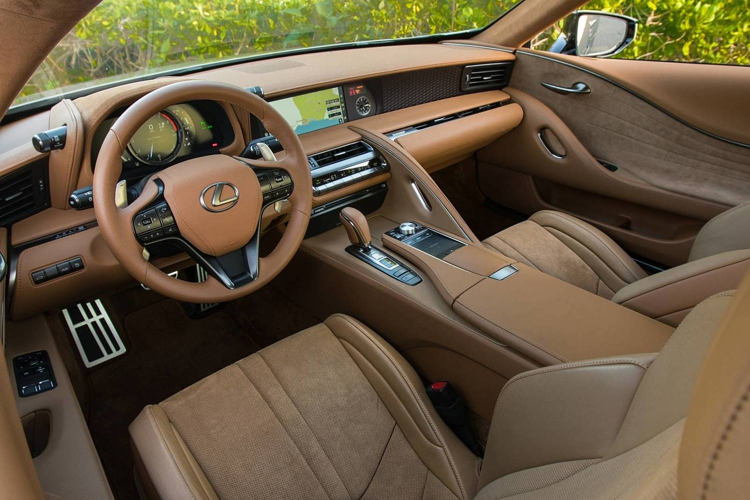 2018 Lexus LC 500 Coupe Interior