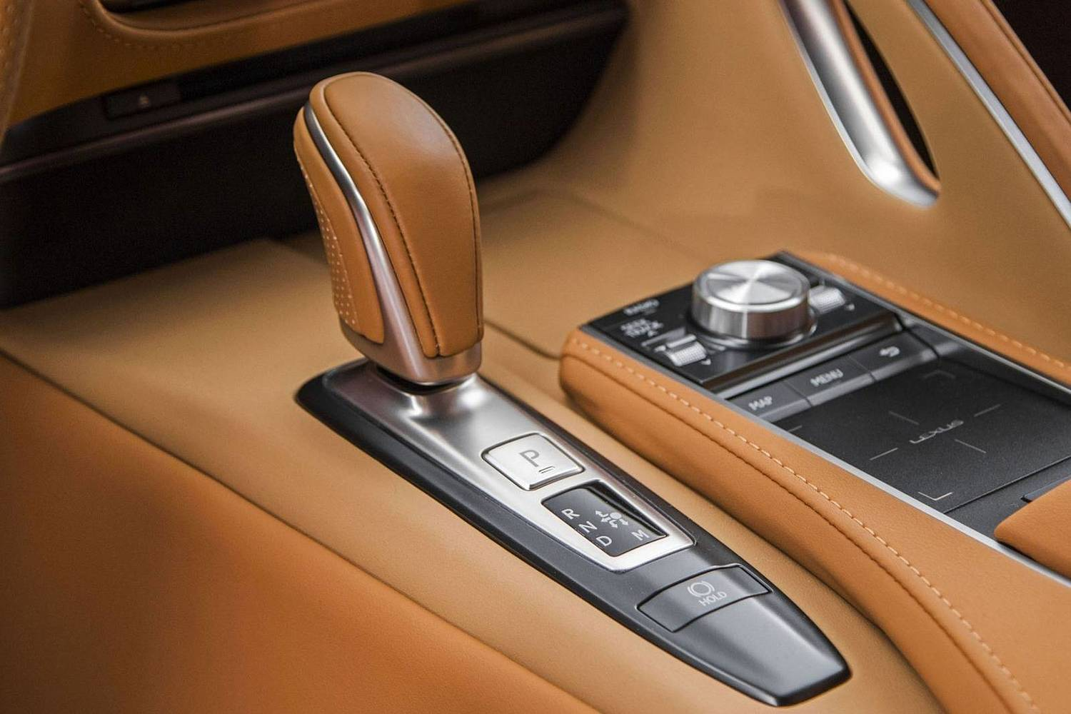 2018 Lexus LC 500 Coupe Shifter