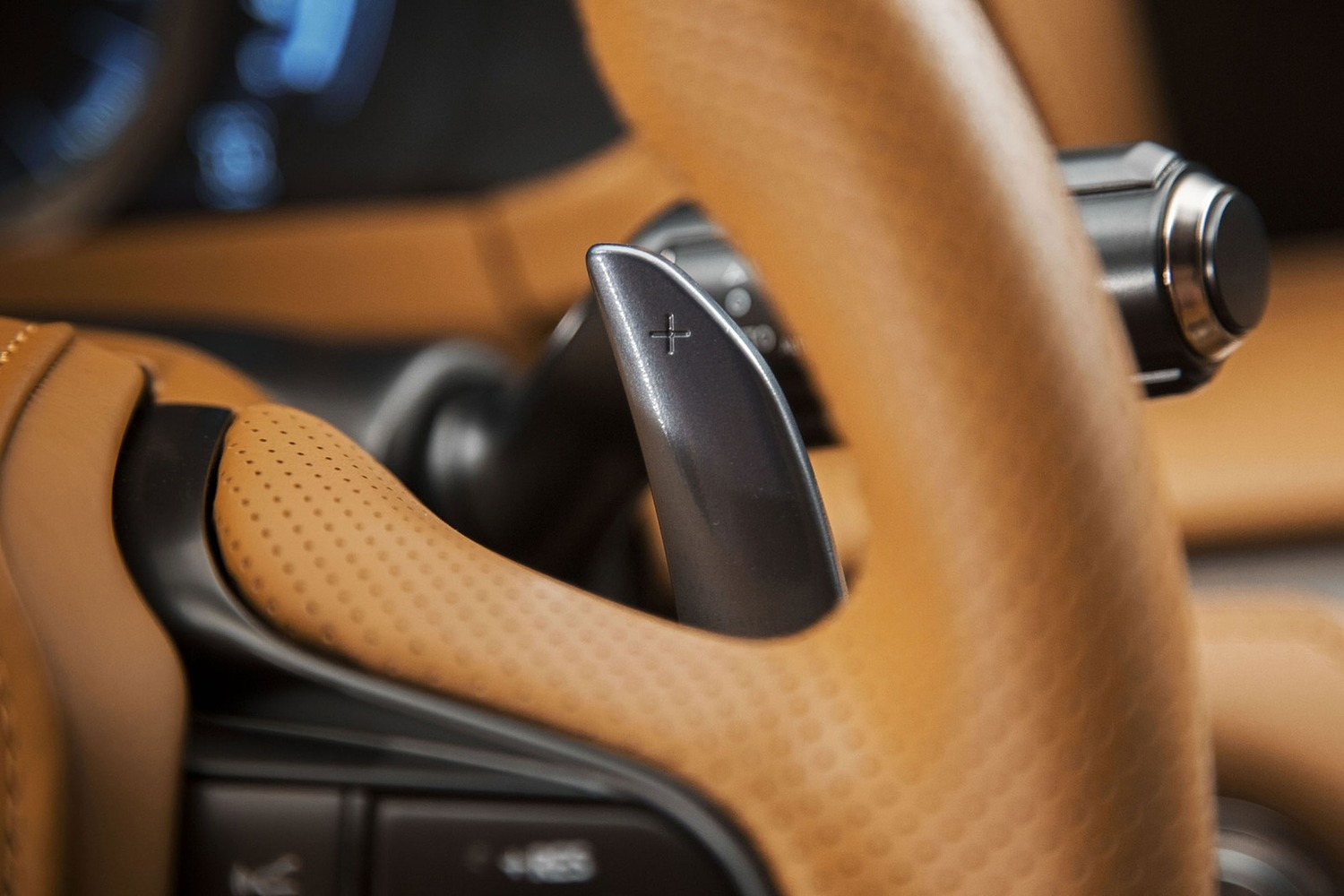 2018 Lexus LC 500 Coupe Steering Wheel Detail