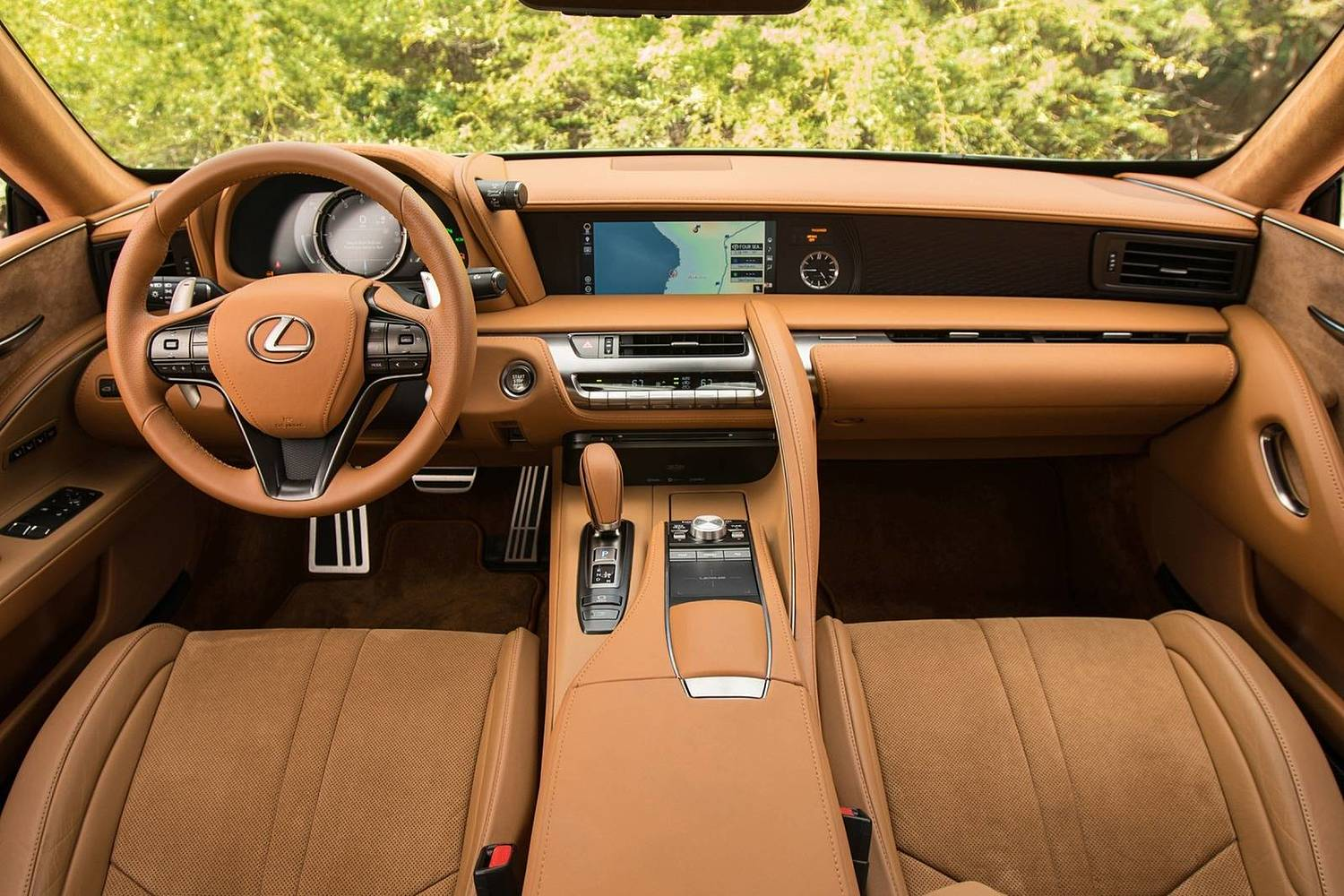 2018 Lexus LC 500 Coupe Dashboard