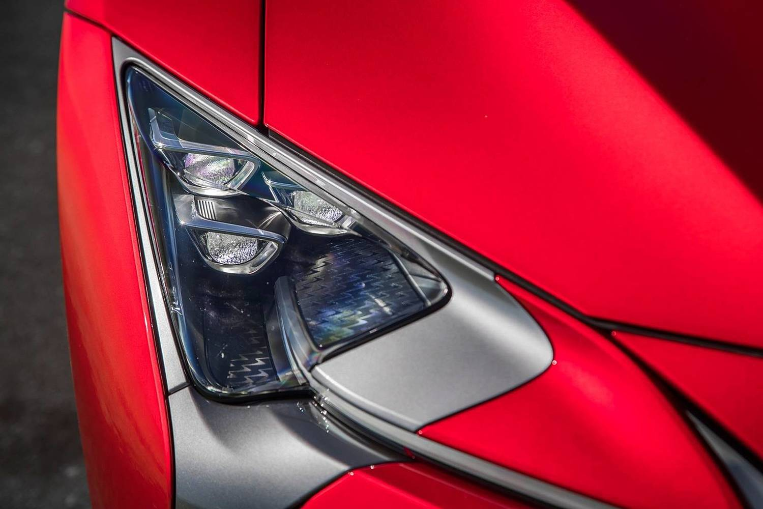 2018 Lexus LC 500 Base Coupe Headlamp Detail Exterior Detail