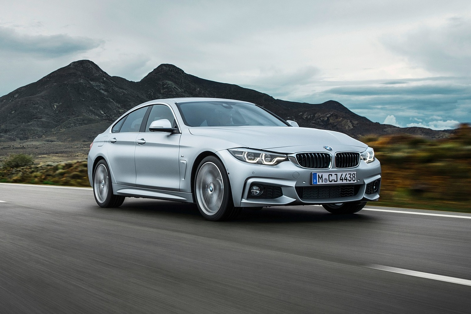 2018 BMW 4 Series Gran Coupe 440i Sedan Exterior M Sport Package Shown