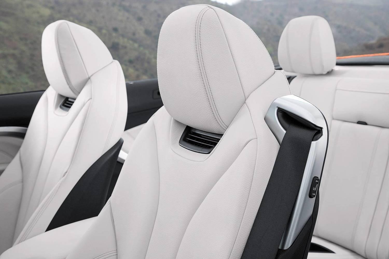 2018 BMW 4 Series 430i SULEV Convertible Interior Detail