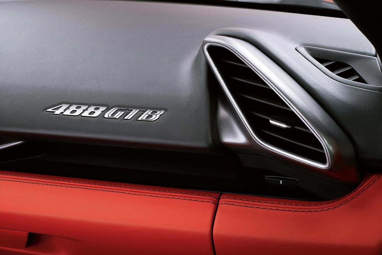 2016 Ferrari 488 GTB Coupe Interior Detail