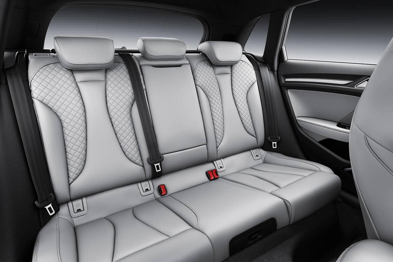 Audi A3 Sportback e-tron 1.4 TFSI PHEV Prestige 4dr Hatchback Rear Interior. Sport Package Shown. (2018 model year shown)