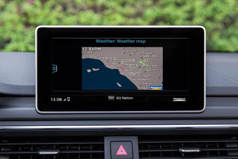 2018 Audi A4 2.0 TFSI Prestige quattro Sedan Center Console