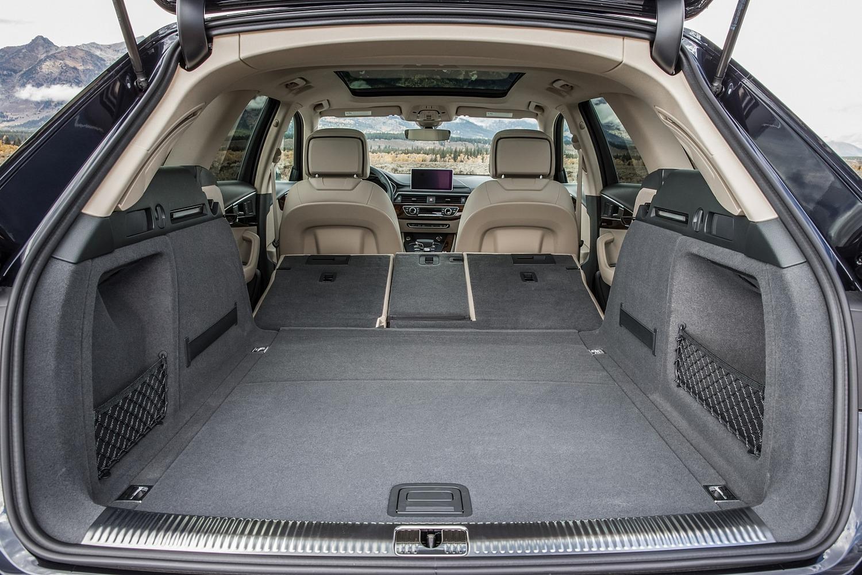 2018 Audi A4 allroad 2.0 TFSI Prestige quattro Wagon Rear Seats Down