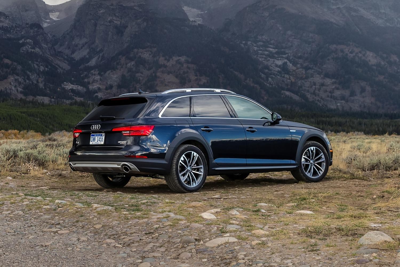 2018 Audi A4 allroad 2.0 TFSI Prestige quattro Wagon Exterior Shown