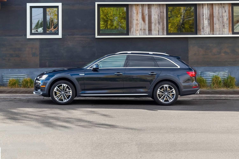 2018 Audi A4 allroad 2.0 TFSI Prestige quattro Wagon Profile. Driver Assistance Package Shown.
