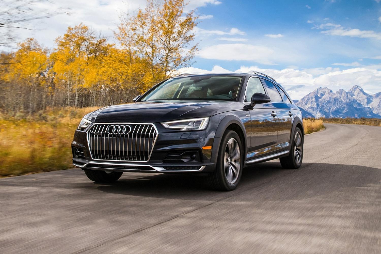 2018 Audi A4 allroad 2.0 TFSI Prestige quattro Wagon Exterior. Driver Assistance Package Shown.
