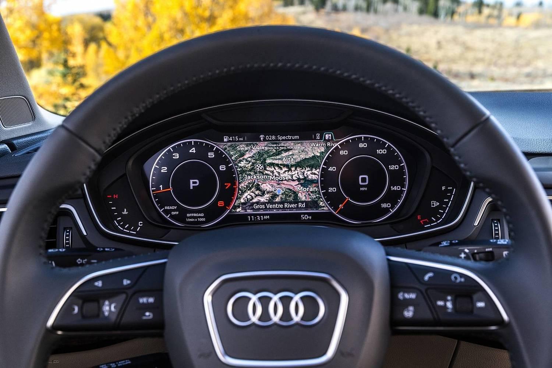 2018 Audi A4 allroad 2.0 TFSI Prestige quattro Wagon Gauge Cluster