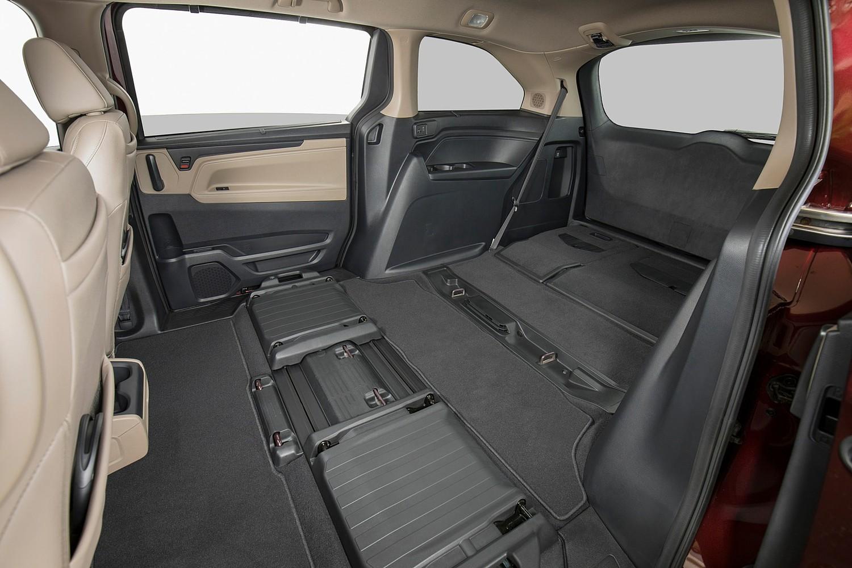 2018 Honda Odyssey Elite Passenger Minivan Rear Seats Down