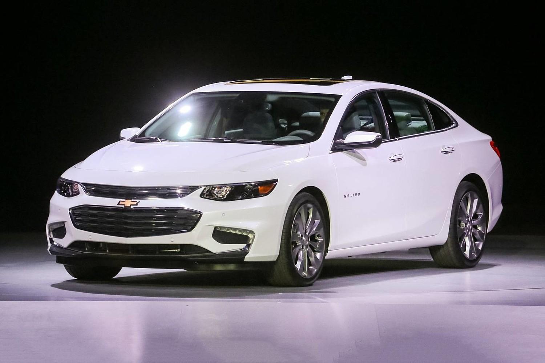 2018 Chevrolet Malibu Premier Sedan Exterior Shown