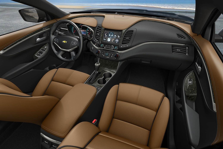 2018 Chevrolet Impala Premier Sedan Dashboard Shown