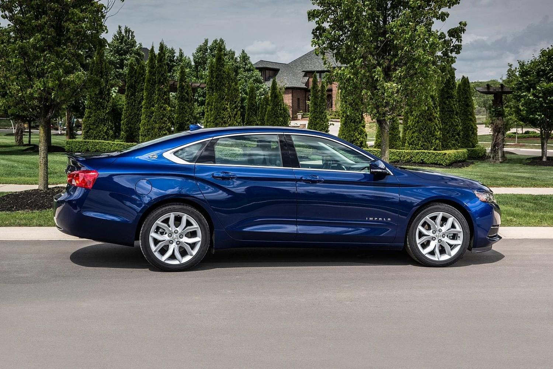 2018 Chevrolet Impala LT Sedan Profile Shown