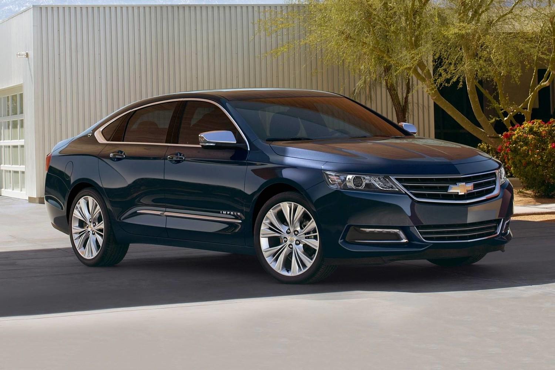 2018 Chevrolet Impala Premier Sedan Exterior. Options Shown.