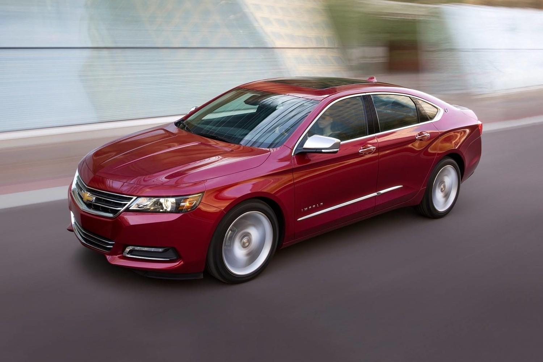 2018 Chevrolet Impala Premier Sedan Exterior Shown