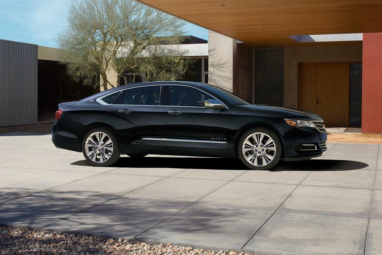2018 Chevrolet Impala Premier Sedan Profile. Options Shown.
