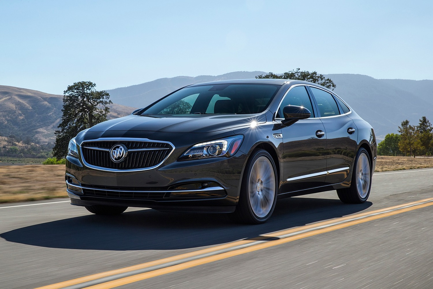 2018 Buick LaCrosse Premium Sedan Exterior Shown
