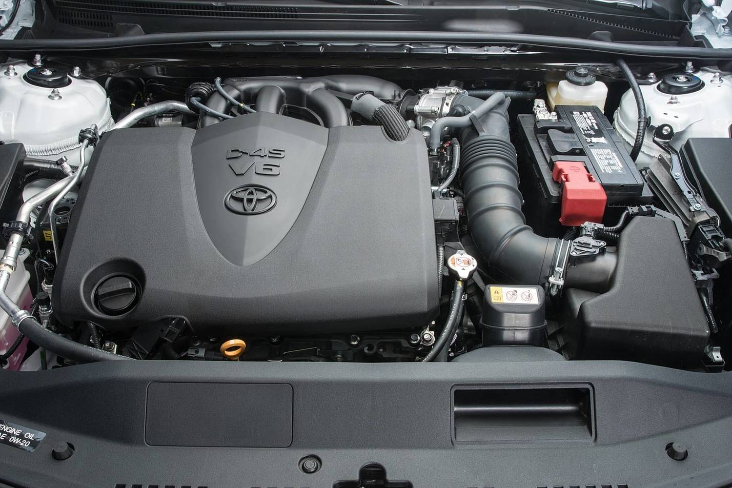 2018 Toyota Camry XLE Sedan 3.5L V6 Engine Shown