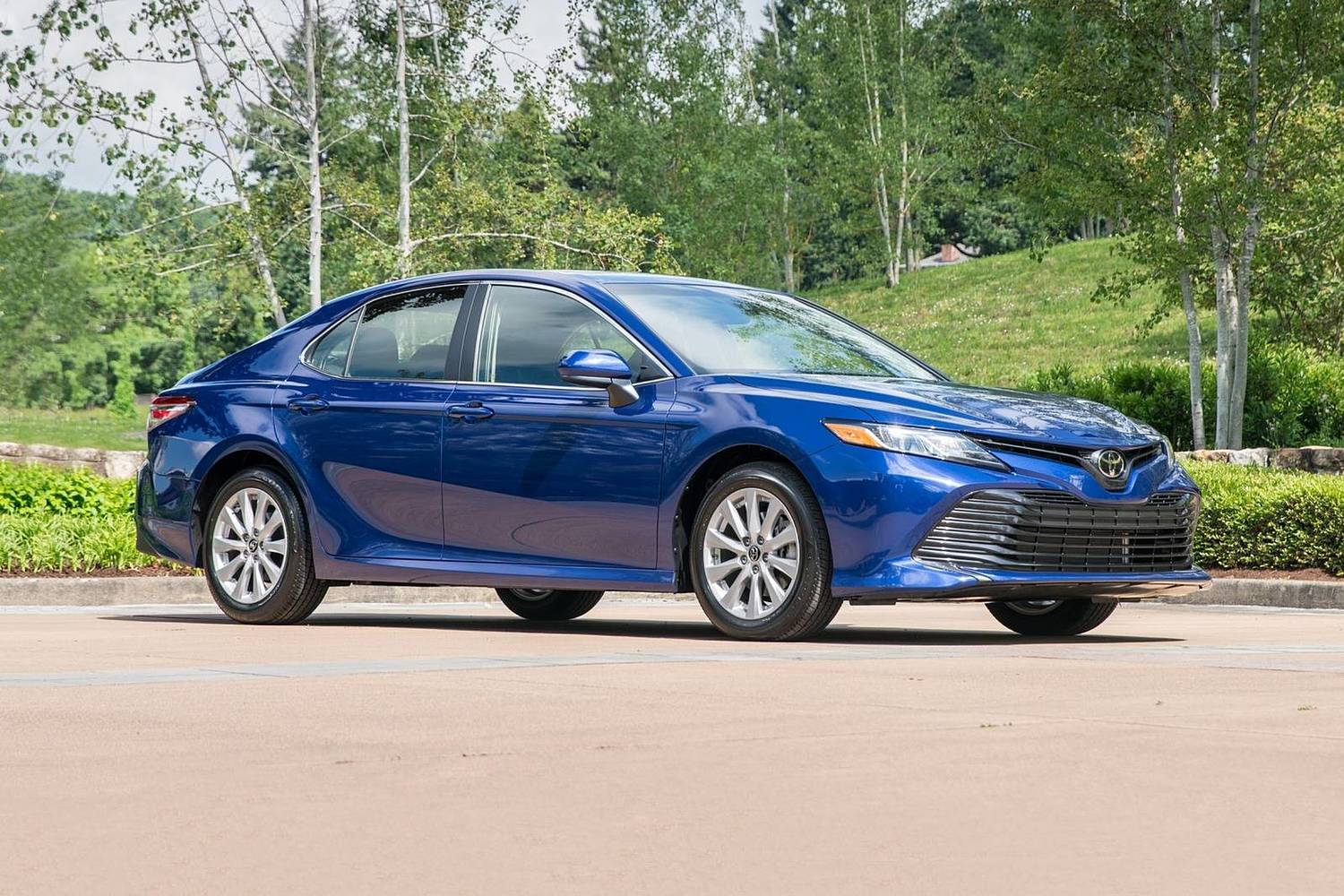 2018 Toyota Camry LE Sedan Exterior Shown