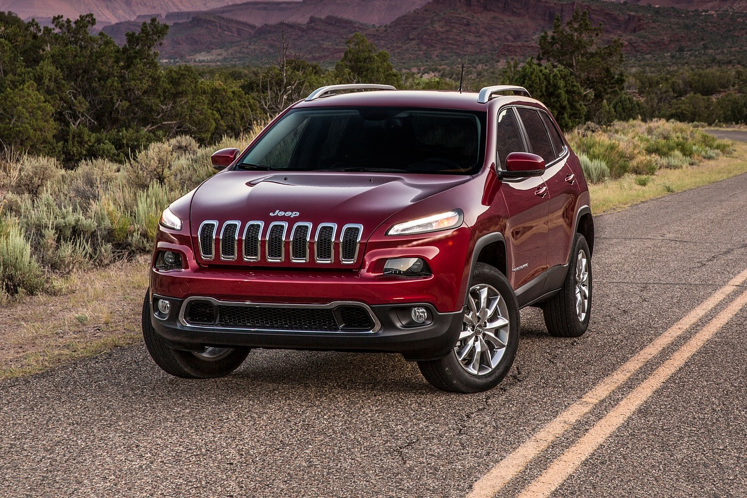 2018 Jeep Cherokee Limited 4dr SUV Exterior Shown