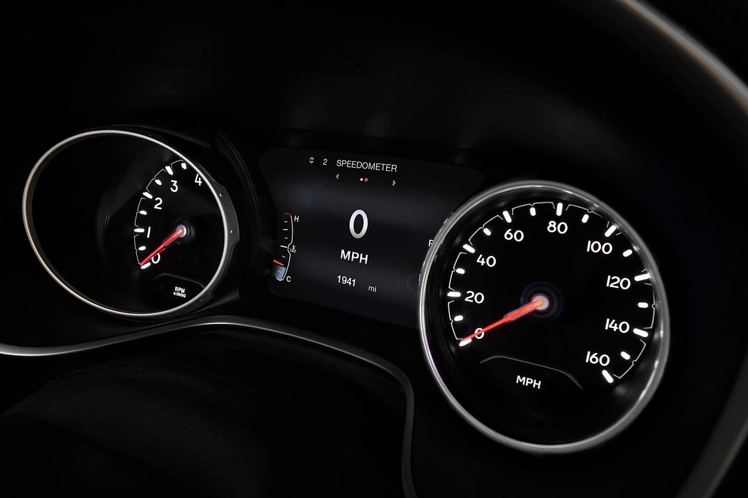 2018 Jeep Compass Limited 4dr SUV Gauge Cluster