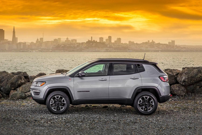 2018 Jeep Compass Trailhawk 4dr SUV Profile
