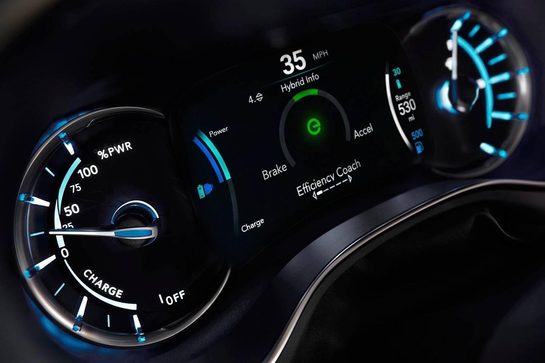 2018 Chrysler Pacifica Hybrid Touring Plus Passenger Minivan Gauge Cluster