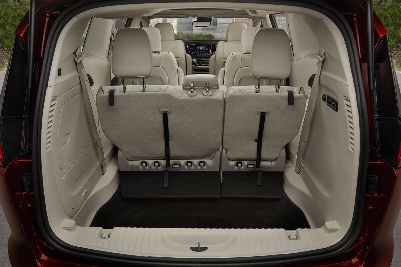 2018 Chrysler Pacifica Limited Passenger Minivan Cargo Area