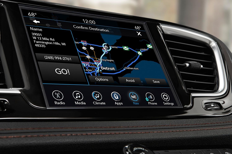 2018 Chrysler Pacifica Limited Passenger Minivan Navigation System