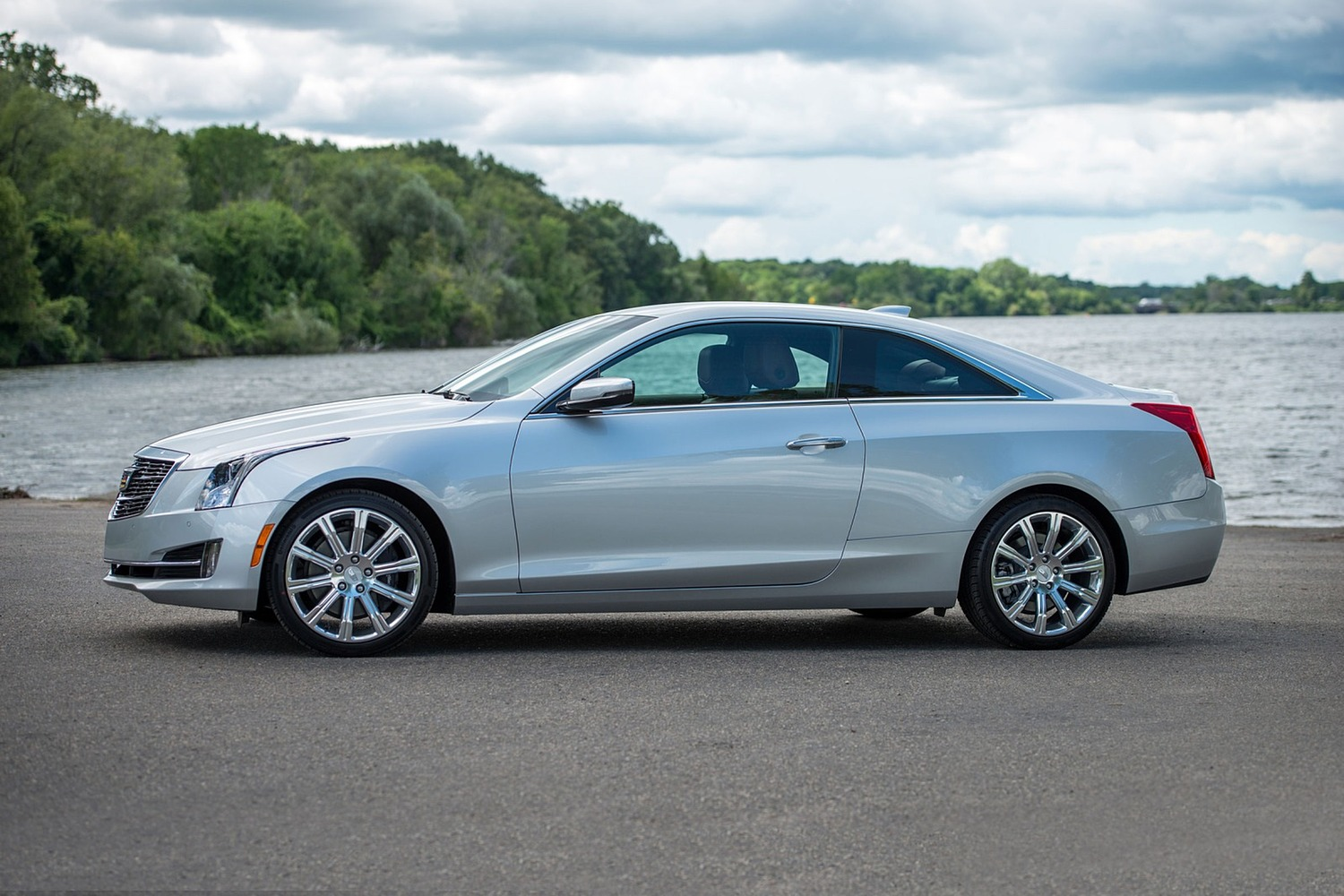 2018 Cadillac ATS Coupe Luxury Profile