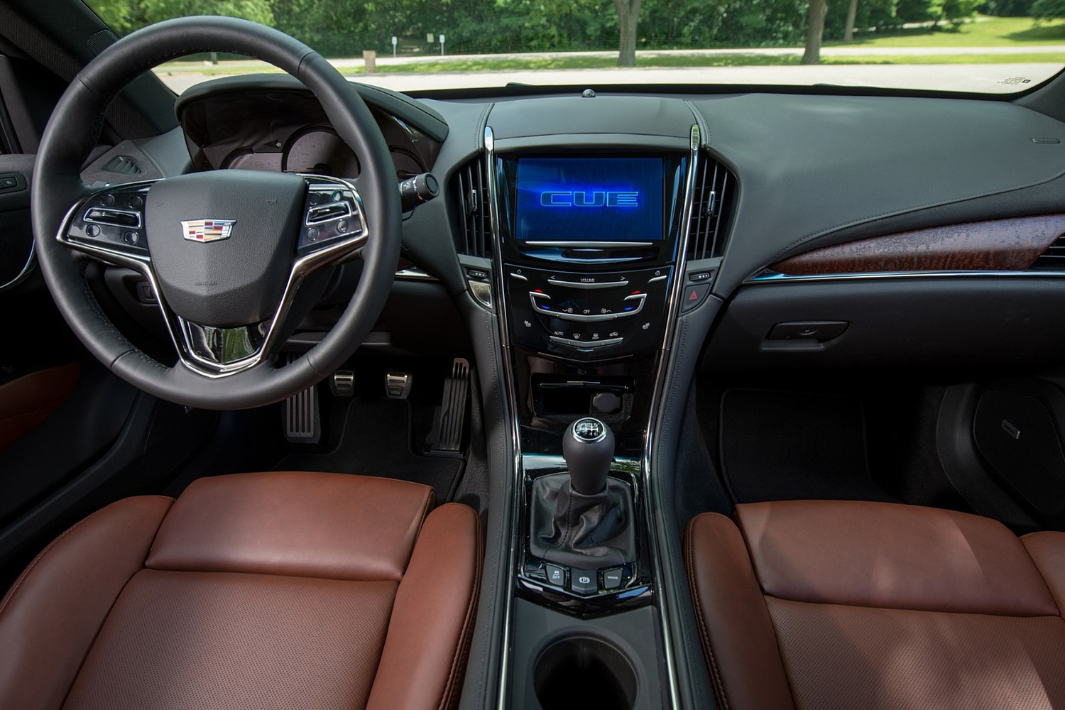 2018 Cadillac ATS Coupe Premium Performance Dashboard