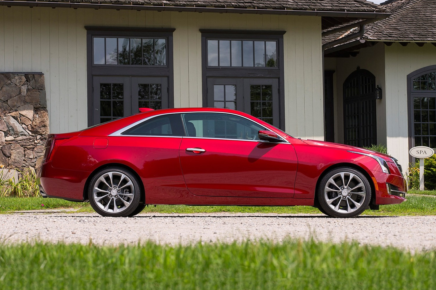 2018 Cadillac ATS Coupe Premium Performance Profile