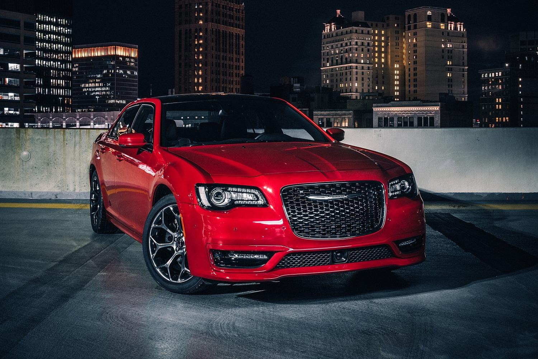Chrysler 300 Sedan Exterior. S Model Appearance Package Shown