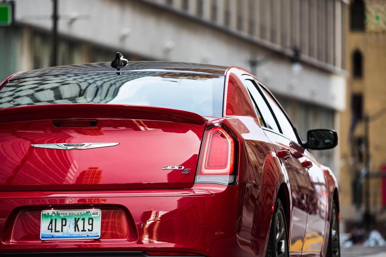 Chrysler 300 Sedan Rear Badge. S Model Appearance Package Shown