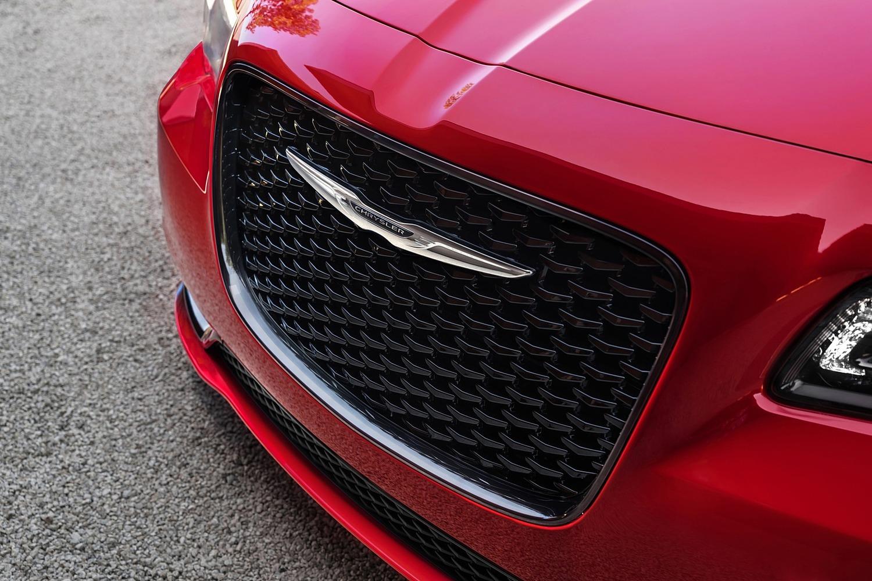 Chrysler 300 Sedan Front Badge. S Model Appearance Package Shown