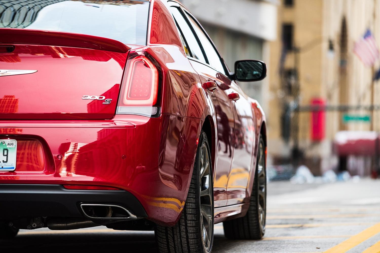 Chrysler 300 Sedan Exterior Detail. S Model Appearance Package Shown