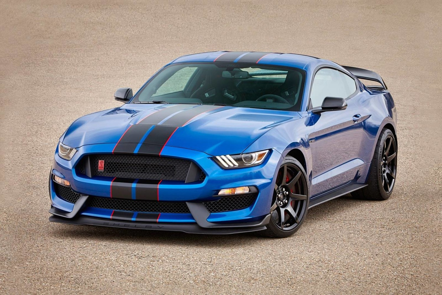 Ford shelby gt350 r coupe exterior