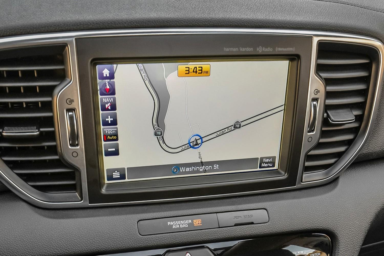 2018 Kia Sportage SX 4dr SUV Navigation System