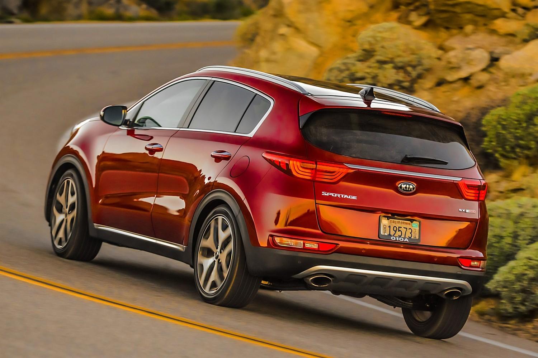 2018 Kia Sportage SX 4dr SUV Exterior