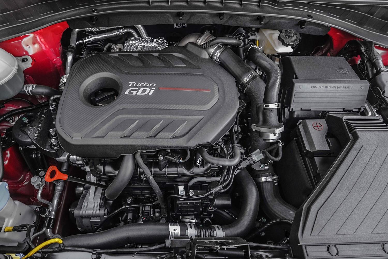 2018 Kia Sportage SX 4dr SUV Engine