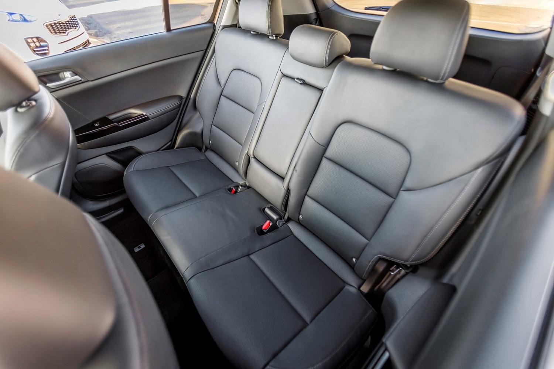 2018 Kia Sportage SX 4dr SUV Rear Interior