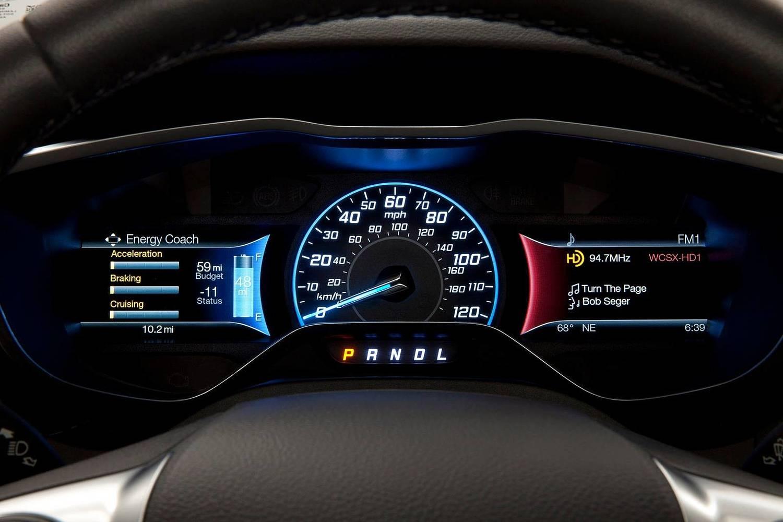 Ford Focus Electric 4dr Hatchback Gauge Cluster