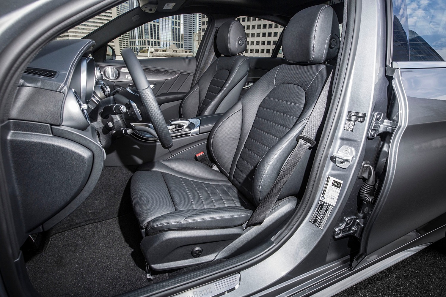 2018 Mercedes-Benz C-Class C 300 4MATIC Sedan Interior Shown